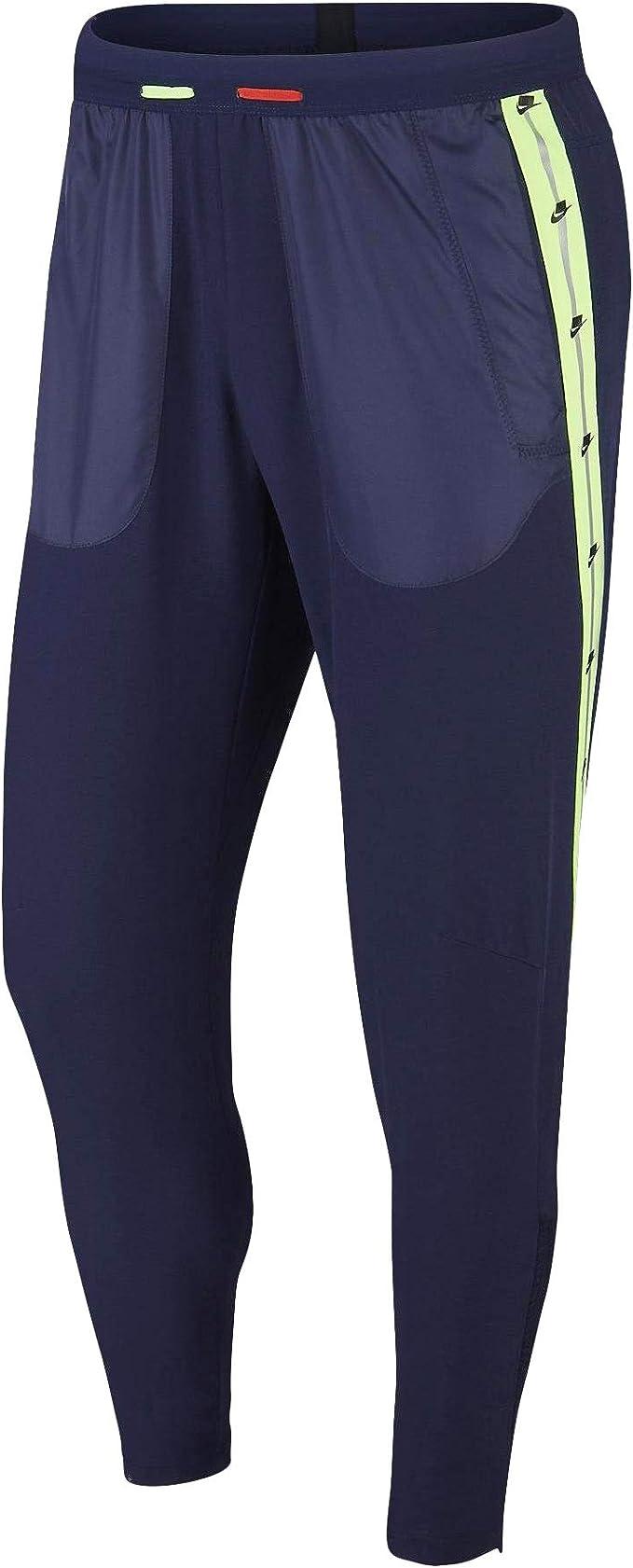 código Morse conveniencia Abuelo  Nike Wild Run Phenom Pants 2 Blackened Blue/Habanero Red SM at Amazon Men's  Clothing store