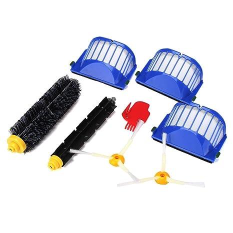 QuickZ Piezas de Repuesto para Aspirador de Irobot Roomba 585 595 600 610 620 650 Series