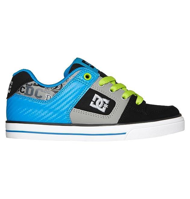 DC Shoes Boys Shoes Boy's 8-16 Pure Elastic Se Slip On Shoes Adbs300222