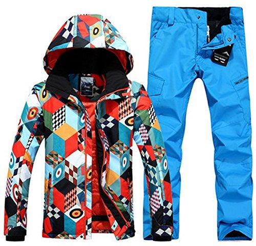 LEIT YFF Mens ski Snowboard ski Traje Traje de Chaqueta y ...