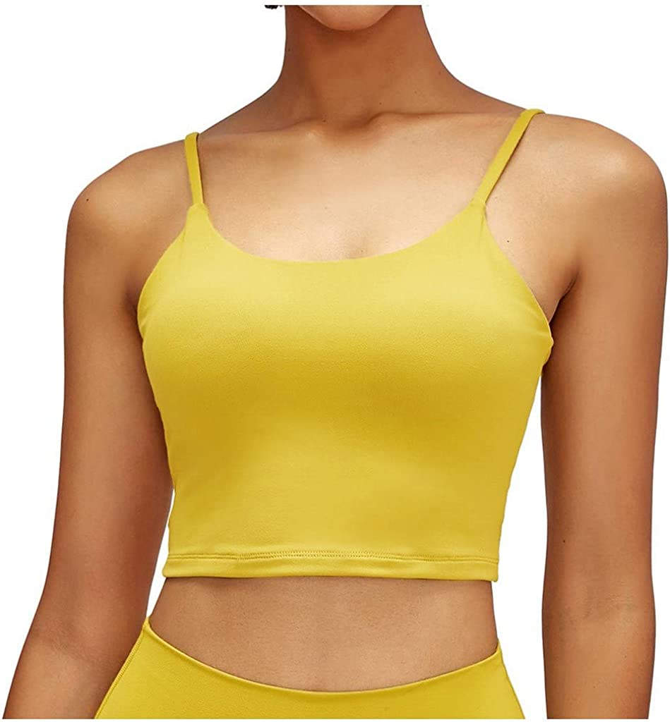 Gobehebe 3Pc Tank Tops for Women Workout Gym Sports Cropped Top Cotton Solid Sleeveless