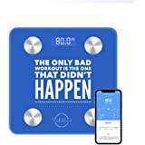 PREMIUM ACCURATE, BODY COMPOSITION SCALES, WIRELESS, SMART, BODY FAT SCALE , BODY FAT %, BATHROOM MOTIVATIONAL SCALE, App Compatible with Apple Health, Samsung devices, Google Fit, and more. Track your weight, BMI, lean muscle, bone density, visceral fat%, water, unlimited users. Bluetooth