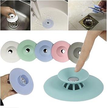 OKOKMALL US  Kitchen Bathroom Sink Plug Drain Hair Strainer Stopper Basin  Bath Bathtub Supply