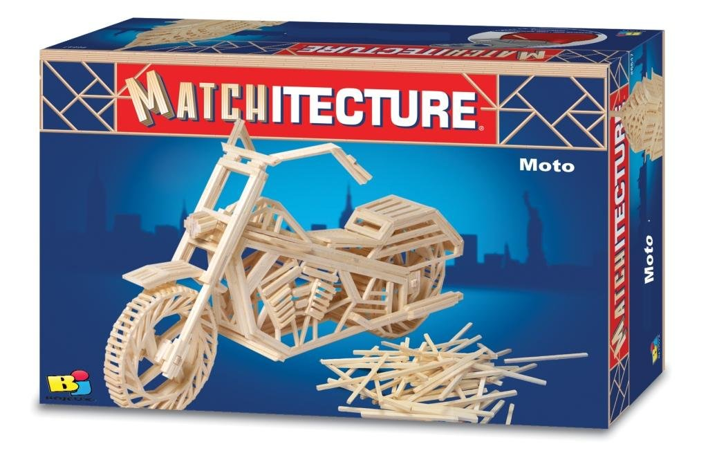 Bojeux Matchitecture Motorcycle Model Kit Flat River Group MATCH6649