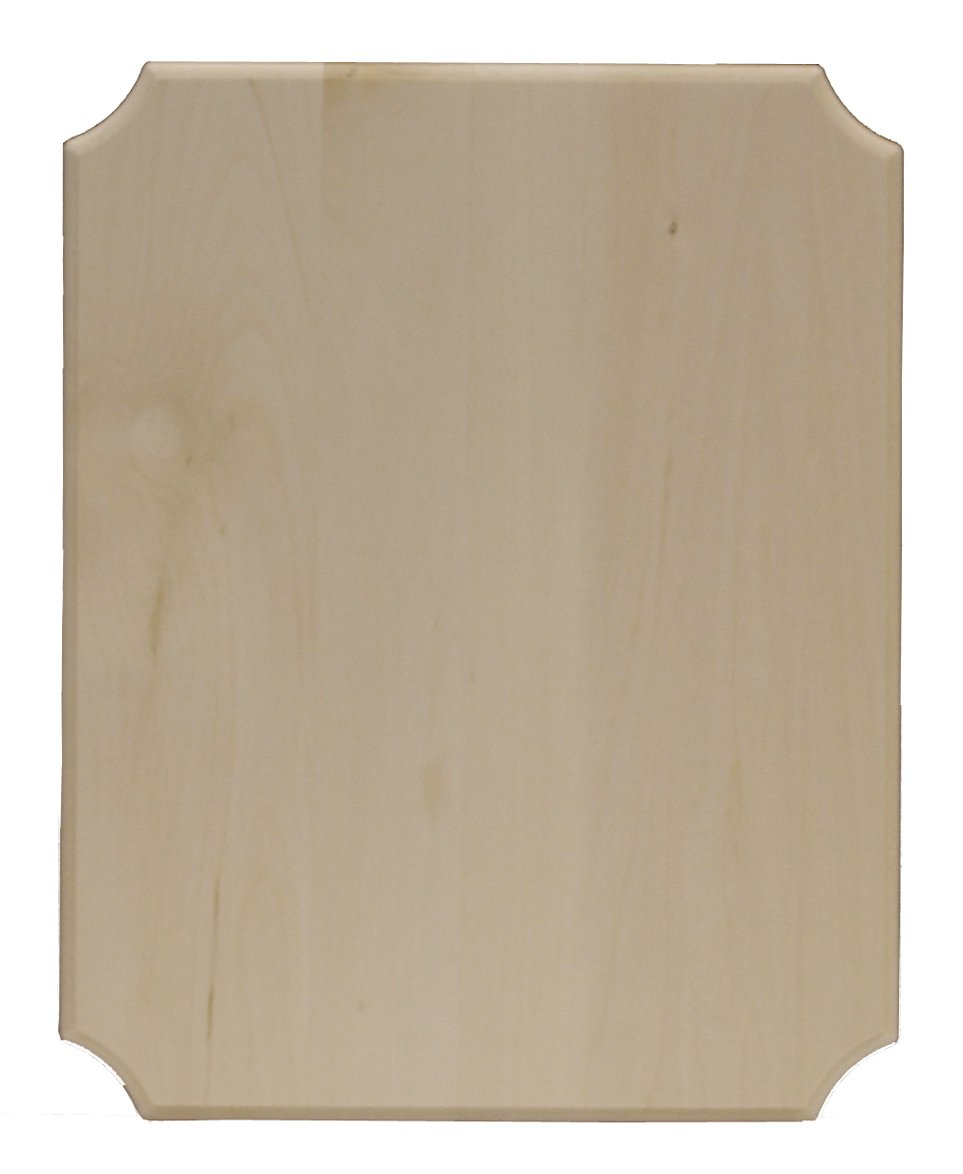 Walnut Hollow 18412 French Corner Basswood Plaque 12 x 16, Wood