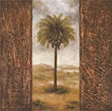 'Coconut Tree' Oil Painting, 12x12 Inch / 30x31 Cm ,printed On Perfect Effect Canvas ,this High Definition Art Decorative Canvas Prints Is Perfectly Suitalbe For Bathroom Gallery Art And Home Decoration And Gifts
