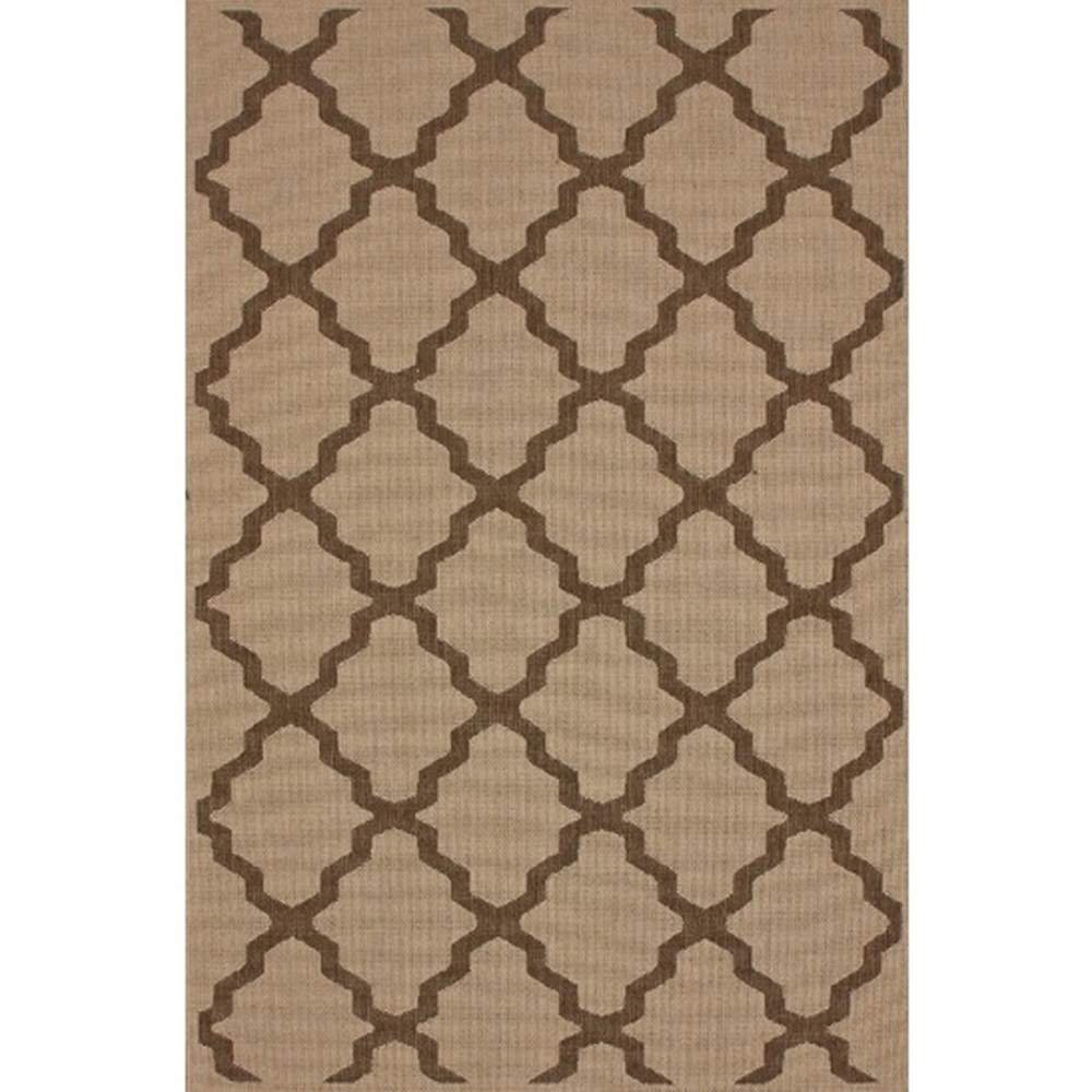 amazoncom nuloom dawn collection trellis outdoor machine made area rug 5feet 3inch by 7feet 9inch tawny kitchen u0026 dining - Nuloom Rugs