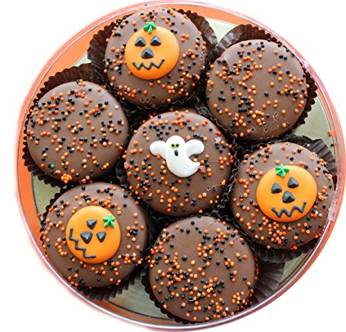 Chocolate Dipped Oreo Cookies for Halloween 7 Oreos (Naples Cookies)