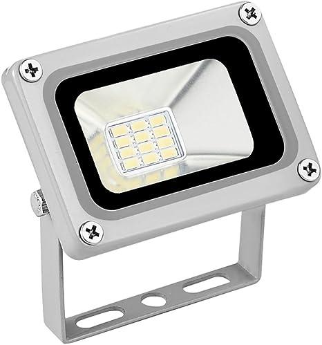 5X 10W 12V LED Flood Light Cool White 6000-6500K Lamps for Outdoor Garden Light