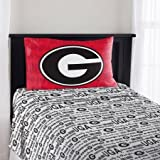NCAA Georgia Bulldogs ''Anthem'' Twin Sheet Set