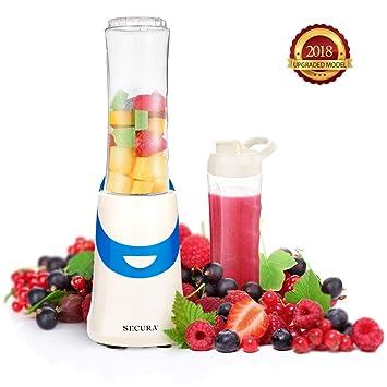 Secura Batidora para batidos de frutas, malteadas, licuados y leche 300W Azul: Amazon.es: Hogar