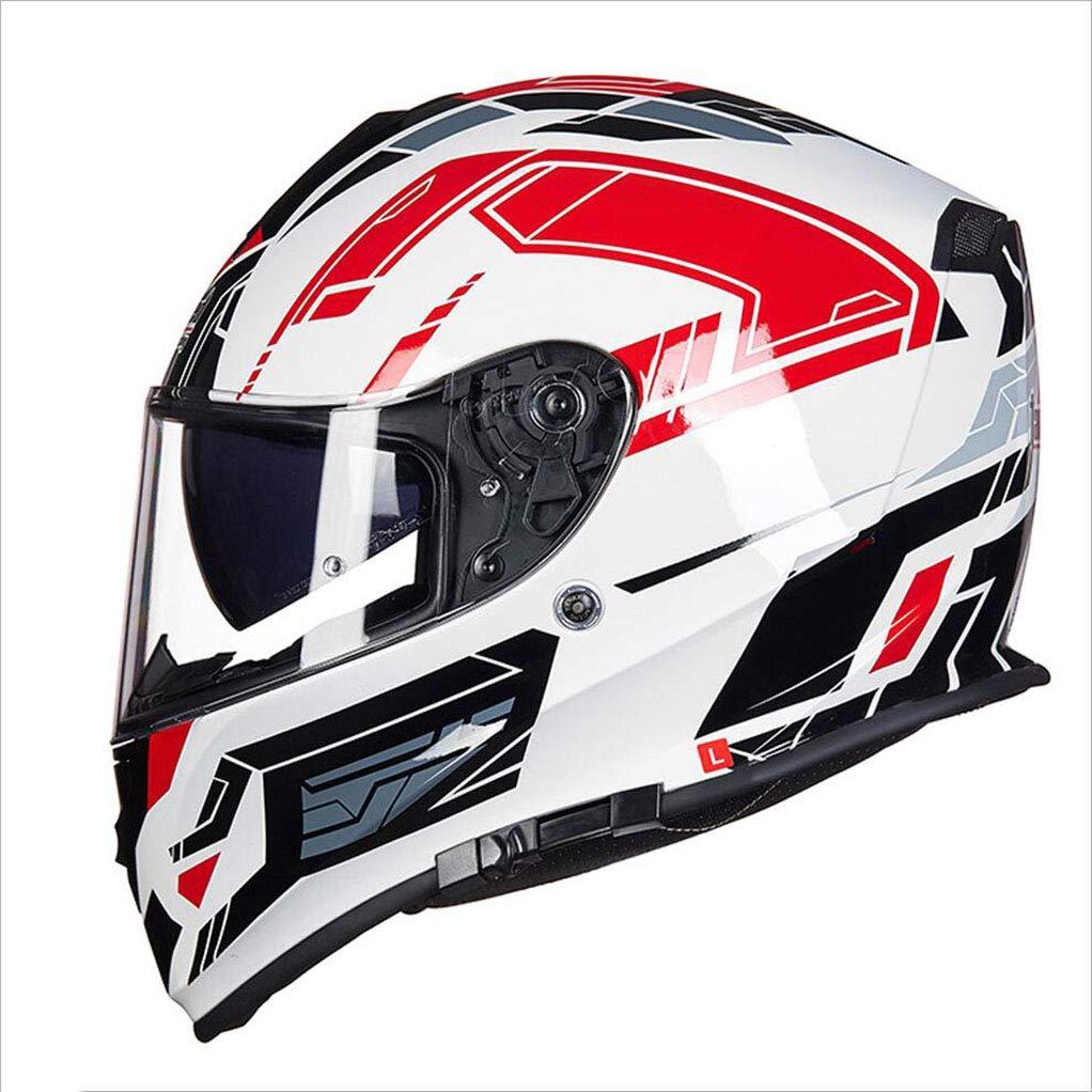 代引き人気 アウトドアアダルトフルカバーヘルメットアンチフォグダブルレンズオートバイヘルメット安全ライトユニセックス通気性ヘルメット (色 : 青, サイズ (色 さいず XXL(60-62cm) Red : XL(58-60CM)) B07KT381NH XXL(60-62cm)|Red Red XXL(60-62cm), オーダー収納スタイル:d2cd961d --- a0267596.xsph.ru