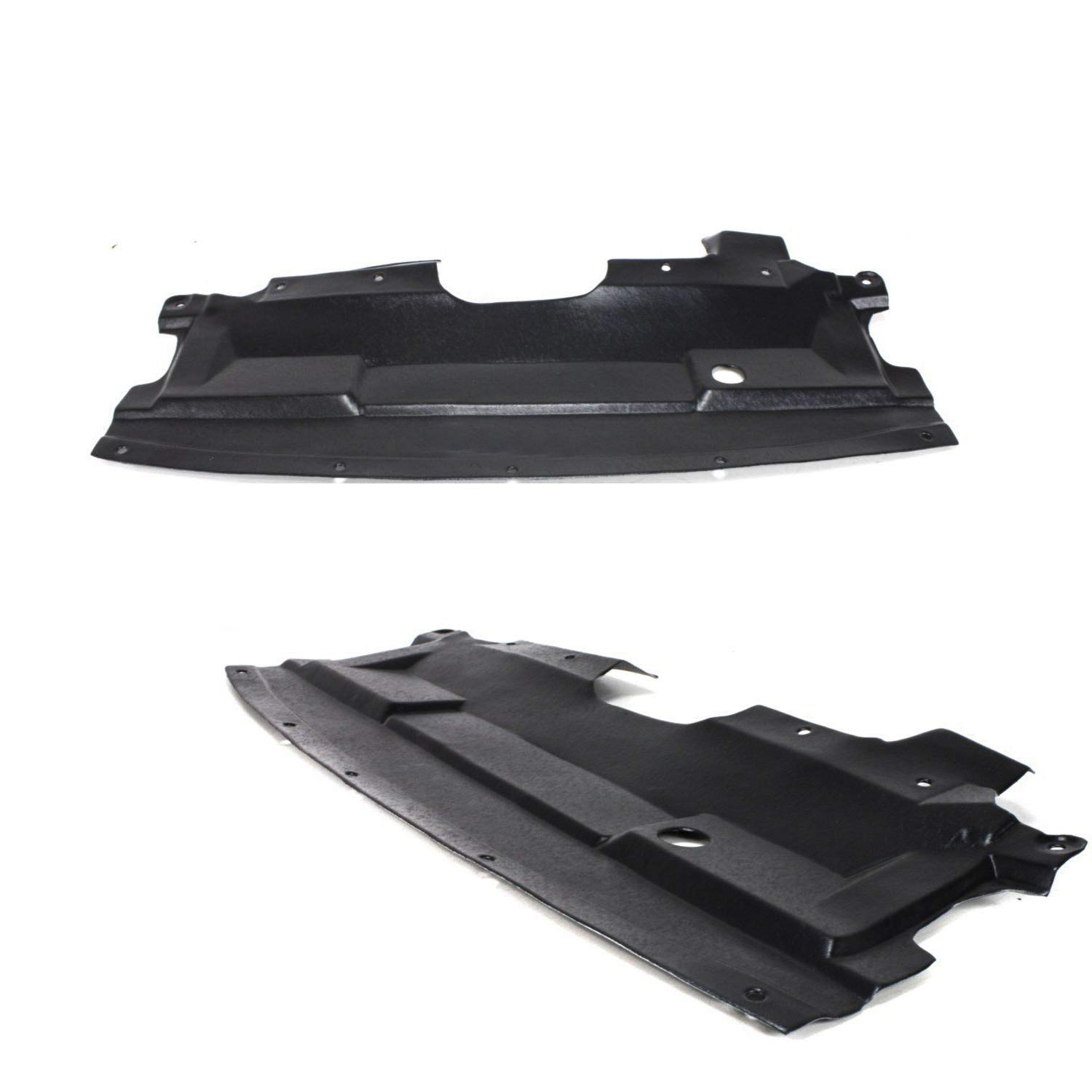 Make Auto Parts Manufacturing Set of 2 Front Engine Under Cover Splash Shield for Nissan Altima 2002-2006 NI1228103 for Nissan Maxima 2004-2008 NI1228108
