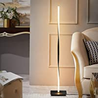 TBOYUAN Floor Lamp, Smart LED Floor Lamp with Foot Switch, Spiral Standing Lamp, Aluminum Alloy Modern Minimalist…