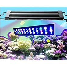 DLPJ 34CM~91CM Led Aquarium Lights for Fresh Tank Salt Tank Fish and Seaweed Plant Led Reef Light Led Plant Grow Light Led Panel Light (62CM)