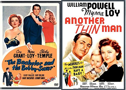 The Bachelor and the Bobby Soxer + Another Thin Man Classic DVD movie - Old Remakes Songs Of