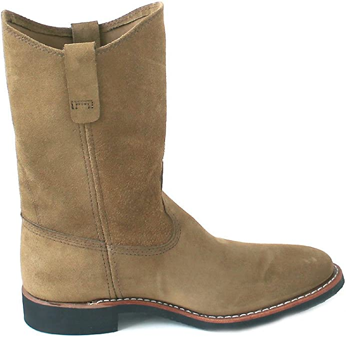 Red Wing Womens Pecos 3469 Olive Suede B