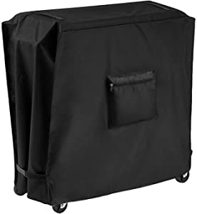 Cooler Cart Cover, Universal Fits for Most Beverage Cart 80 Quart Rolling Ice Chest Cover Cooler Cart Dust Cover Waterproof Cooler Cover 34