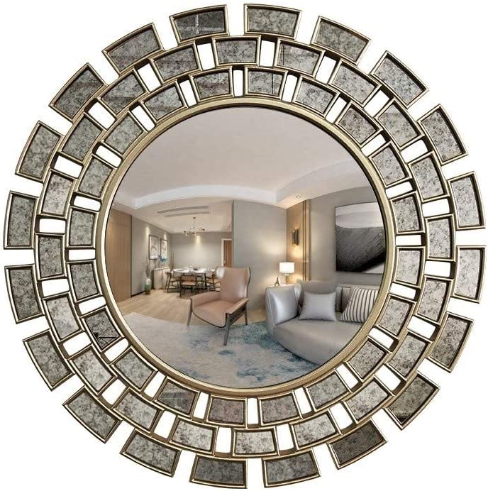 Swivel Mirror Mounting Brackets Antiqued art picture painting steel rustic old