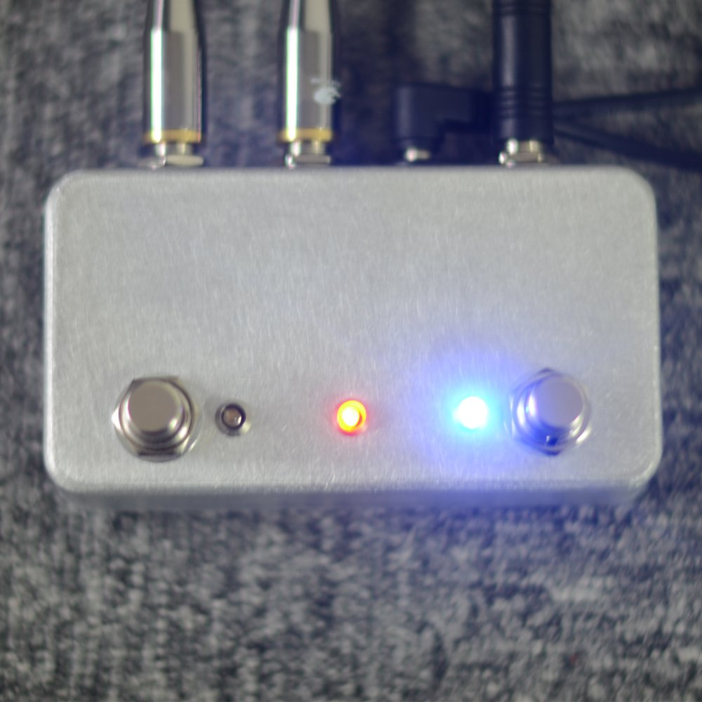 New Hand made ABY Guitar pedal Switch Box A/B Combiner Footswitch TRUE BYPASS Amp / guitar AB by LANDTONE