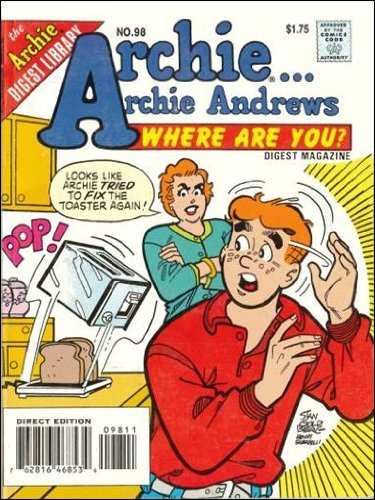 Archie Andrews where are you Digest Magazine No.98