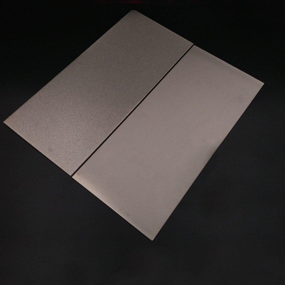 Grano 3000 Afilador con revestimiento diamante Herramienta corte Piedra afilar Placa cuadrada 240-3000 Grano