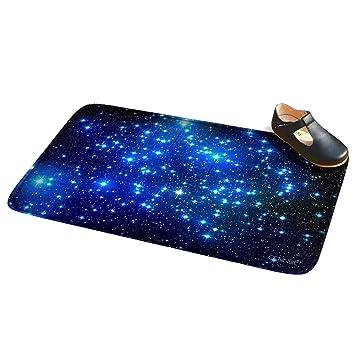 Bath mat treated bath bottom