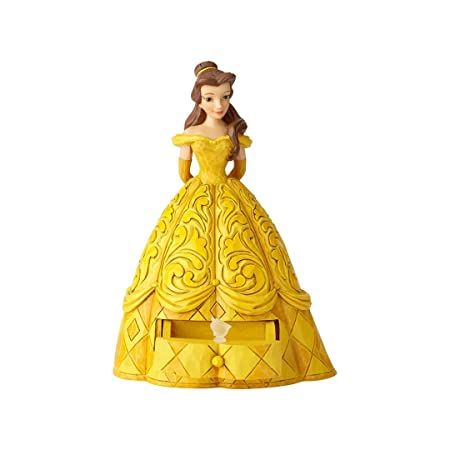 Enesco Disney Traditions Belle with Chip Charm