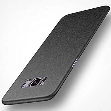 release date: 1cb2f f489e Avalri Samsung Galaxy S8 Case, Ultra Thin Anti-Fingerprint and Minimalist  Hard PC Cover for Galaxy S8 (Matte Black)