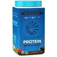 Sunwarrior Proteína Vegetal en Polvo Orgánica, Sabor Chocolate, 750 g