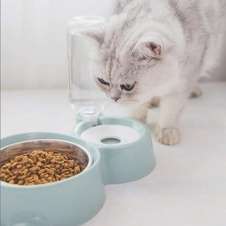 onewell Cuencos Dobles alimentación de Mascotas, Fuente ...