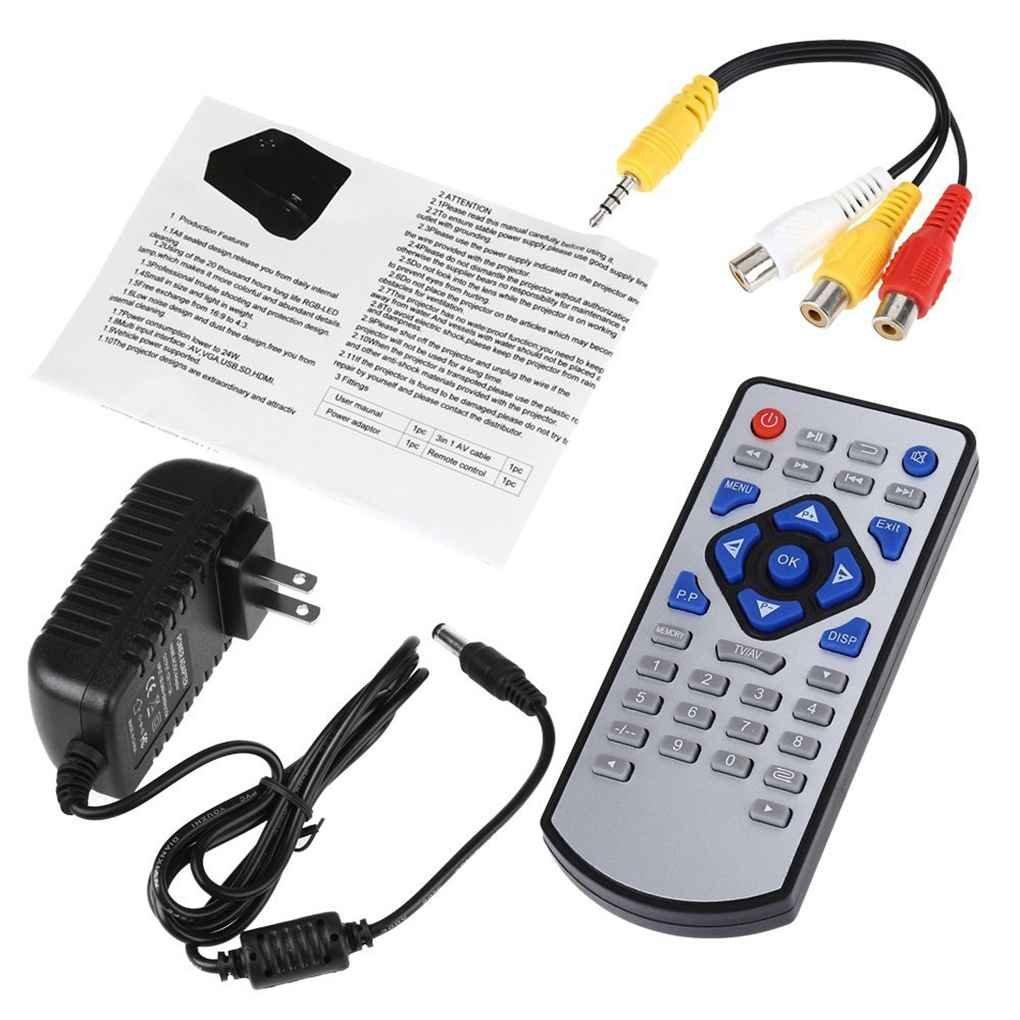 Befaith H80 HD Mini proyector 1080p Pequeño Proyector portátil ...