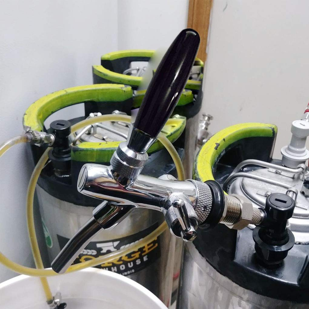 Lorsoul Einstellbare Draft Beer-Hahn-Haus Brewing Keg Homebrew Flow Controller Draft Beer Tap