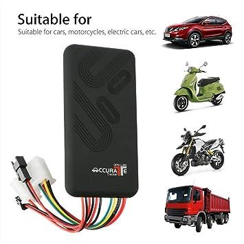 🌺 🌺GPS Tracker coche localizador satélite Alarma Antirrobo ...