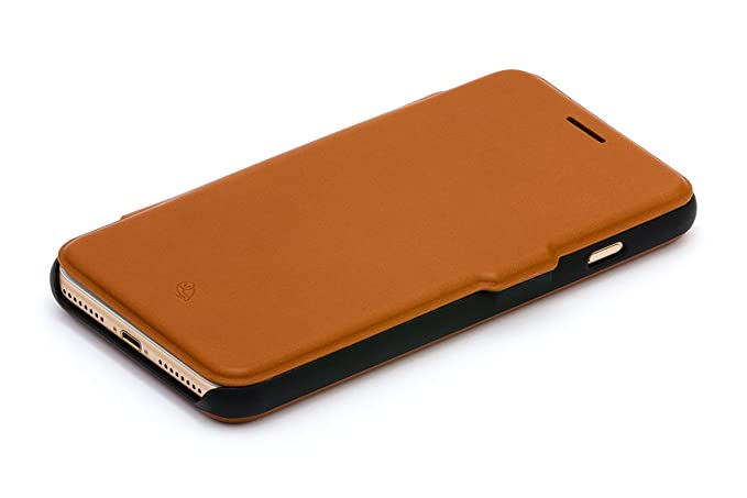 low priced 9bcfe 10252 Bellroy Leather iPhone 8 Plus / 7 Plus Phone Wallet Caramel
