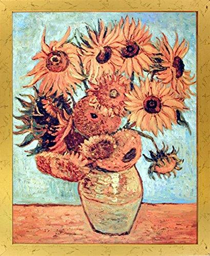 Vincent Van Gogh Vase with Twelve Sunflowers Wall Decor