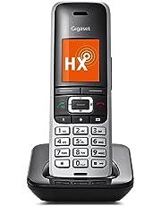 Gigaset S850HX IP-Telefon Fritzbox (kompatibel, VOIP Telefon für Router, schnurloses DECT-Telefon mit Farbdisplay) platin-schwarz