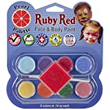 Best RUBIE'S Face Paints - Ruby Red Face Paint Kit, Pearl Review