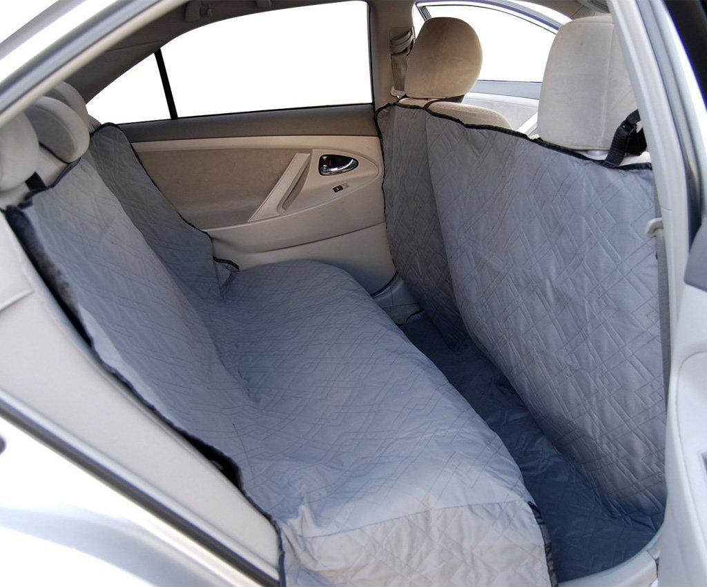 waterproof back seat cover for pets dog cat hammock protector for suv truck van ebay. Black Bedroom Furniture Sets. Home Design Ideas