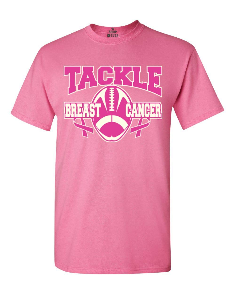 Tackle Breast Cancer T Shirt Breast Cancer Awareness Shirts