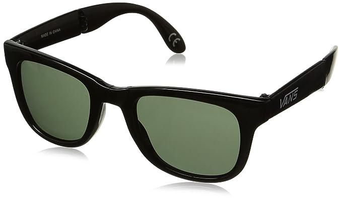 Vans - Gafas de sol Wayfarer VUNK95Q para hombre, BLACK GLOSS