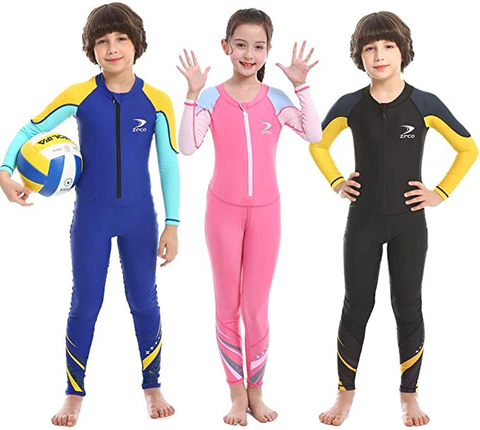 Realon Rash Guard Kids Short Sleeve Girls Boys Swim Top Sun Shirt Diving Surf Swimwear Toddler