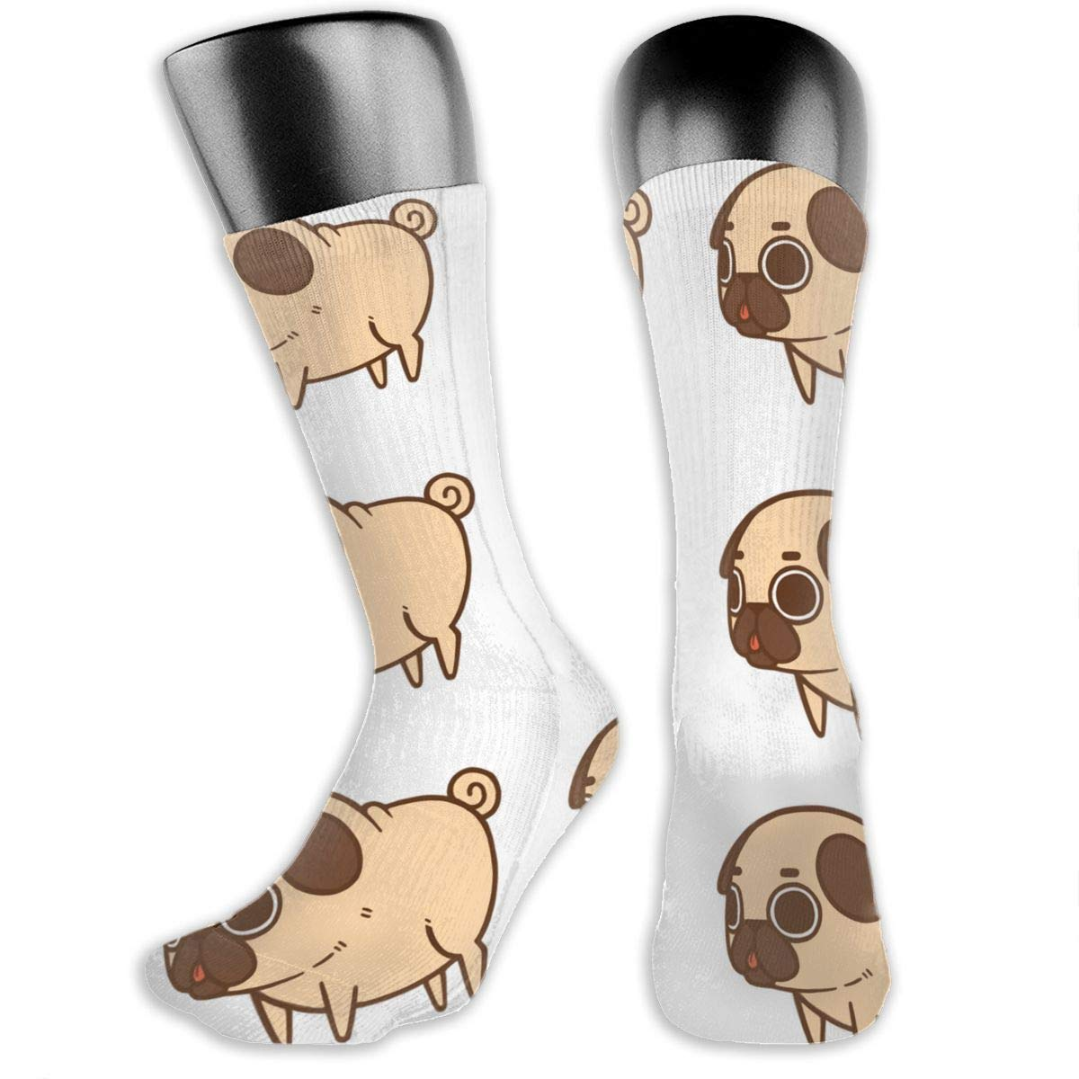 OLGCZM Dog and Puppy Pattern Men Womens Thin High Ankle Casual Socks Fit Outdoor Hiking Trail