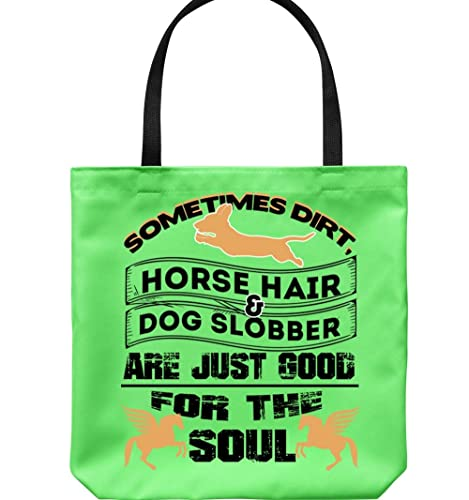 Amazon.com  Horse Hair And Dog Slobber Canvas Tote Bags 1bcd96a0c0299