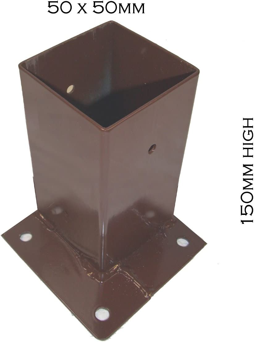 102mm Capin stainless steel Avonstar Trading Company Limited Fence Post Holder in Various Sizes