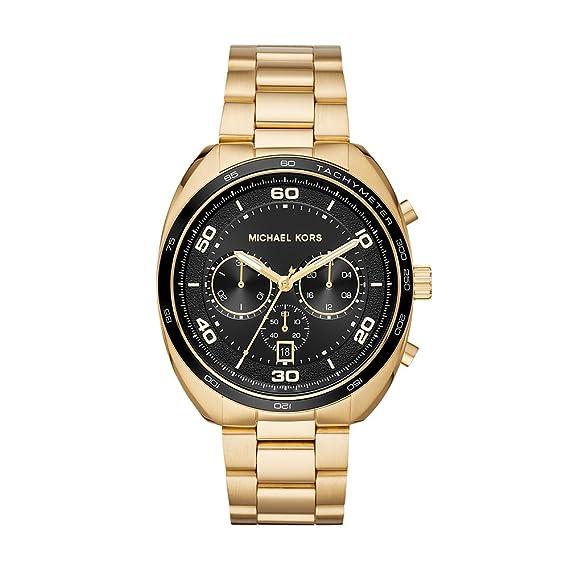 Amazon.com: Michael Kors Mens Dane Quartz Stainless-Steel Strap, Gold, 22 Casual Watch (Model: MK8614: Watches
