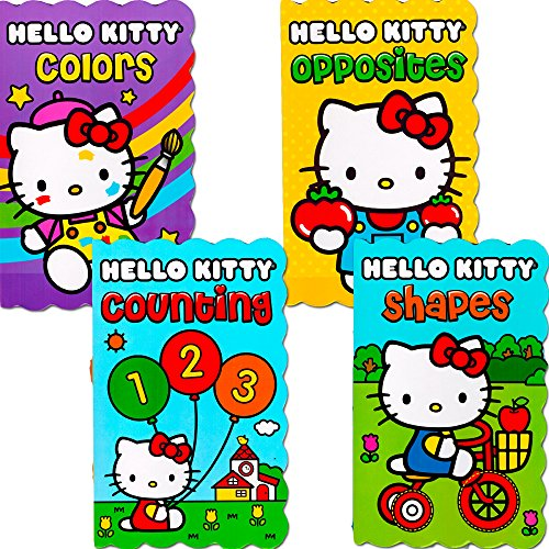 Hello Kitty Board Books - Set of Four