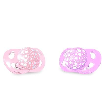 Twistshake 78286 - Chupete, color pastel rosa morado: Amazon ...