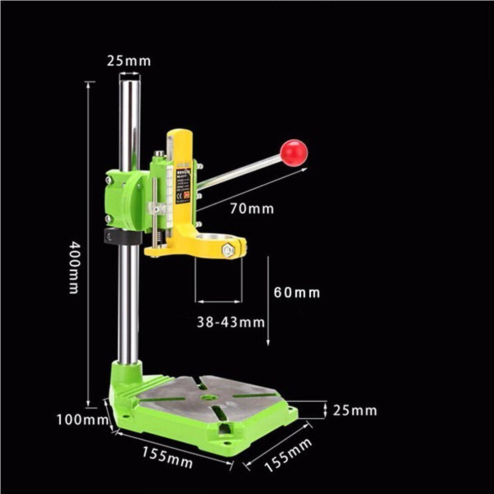 Xiangtat Floor Drill Press / Rotary Tool Workstation Drill Press Work Station / Stand Table for Drill Workbench Repair ,drill Press Table ,Table Top Drill Press90° Rotating Fixed Frame by Xiangat (Image #1)