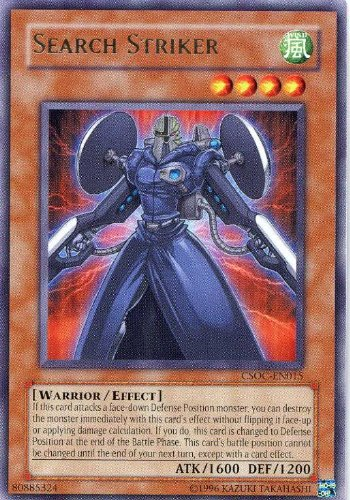 Yu-Gi-Oh! - Search Striker (CSOC-EN015) - Crossroads of Chaos - Unlimited Edition - Rare (Yugioh Best Search Cards)